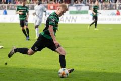 10. Spieltag: Preußen Münster - FC Bayern München II. Fridolin Wagner am Ball.