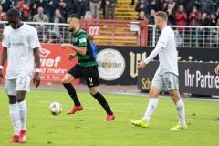 10. Spieltag: Preußen Münster - FC Bayern München II. Rufat Dadashov nach dem 1:4.