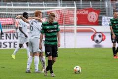 10. Spieltag: Preußen Münster - FC Bayern München II. Abpfiff, Fridolin Wagner und Ole Kittner (r.) enttäuscht.