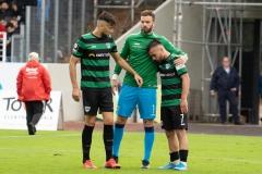 10. Spieltag: Preußen Münster - FC Bayern München II. Trost von Rufat Dadashov und Oliver Schnitzler für Seref Özcan.