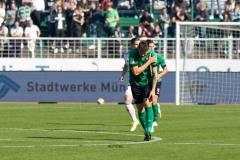 11. Spieltag: SC Preußen Münster - Fortuna Düsseldorf II 2:0. Schrecksekunde: Nicolai Remberg scheint verletzt.
