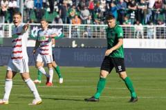 11. Spieltag: SC Preußen Münster - Fortuna Düsseldorf II 2:0. Für Nicolai Remberg ging es aber dann weiter.