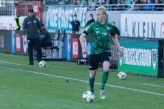 11. Spieltag: SC Preußen Münster - Fortuna Düsseldorf II 2:0. Luke Hemmerich auf der Seite.