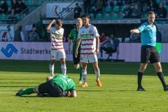 11. Spieltag: SC Preußen Münster - Fortuna Düsseldorf II 2:0. Elfmeter für den SCP nach Foul an Remberg.