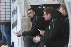 FSV Zwickau gegen Preußen Münster 23.11.2019 Foto: S. Sanders  Malte Metzelder