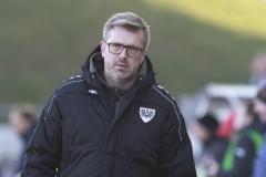 FSV Zwickau gegen Preußen Münster 23.11.2019 Foto: S. Sanders  Trainer Sven Hübscher (Münster)