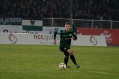 19. Spieltag: Preußen Münster - 1. FC Magdeburg 2:0. Nico Brandenburger.