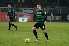 19. Spieltag: Preußen Münster - 1. FC Magdeburg 2:0. Fridolin Wagner.