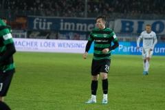 19. Spieltag: Preußen Münster - 1. FC Magdeburg 2:0. Luca Schnellbacher.