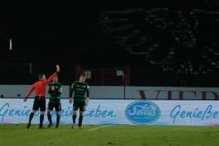19. Spieltag: Preußen Münster - 1. FC Magdeburg 2:0. Gelb-Rot gegen Fridolin Wagner.