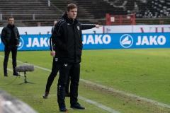 20. Spieltag: Preußen Münster - TSV 1860 München 0:1. Interimstrainer Arne Barez.