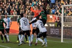20. Spieltag: Preußen Münster - TSV 1860 München 0:1.