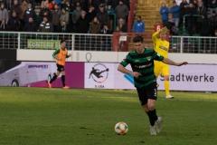 20. Spieltag: Preußen Münster - TSV 1860 München 0:1. Alexander Rossipal.