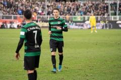 20. Spieltag: Preußen Münster - TSV 1860 München 0:1. Maurice Litka.