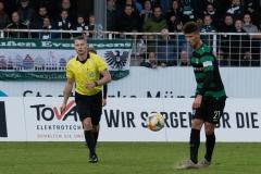 20. Spieltag: Preußen Münster - TSV 1860 München 0:1. Heinz Mörschel.