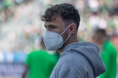 5. Spieltag 2021/2022: Preußen Münster - SV Rödinghausen 0:0. Jules Schwadorf fehlte am Samstag.
