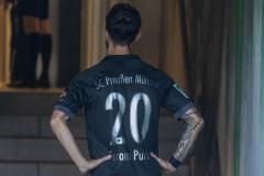 5. Spieltag 2021/2022: Preußen Münster - SV Rödinghausen 0:0. Manuel Farrina Pulido vor dem Spiel.