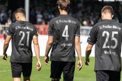 5. Spieltag 2021/2022: Preußen Münster - SV Rödinghausen 0:0.