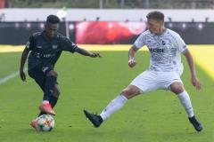 5. Spieltag 2021/2022: Preußen Münster - SV Rödinghausen 0:0. Henok Teklab.