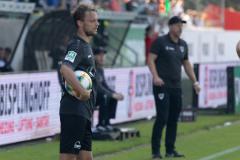 5. Spieltag 2021/2022: Preußen Münster - SV Rödinghausen 0:0. Julian Schauerte.