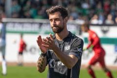 5. Spieltag 2021/2022: Preußen Münster - SV Rödinghausen 0:0. Manuel Farrona Pulido.