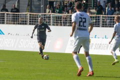 5. Spieltag 2021/2022: Preußen Münster - SV Rödinghausen 0:0. Marvin Thiel.