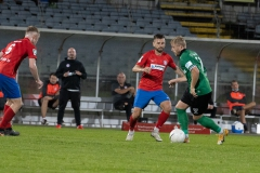 5. Spieltag: Wuppertaler SV - Preußen Münster. Justin Möbius gegen Kevin Rodrigues Pires.