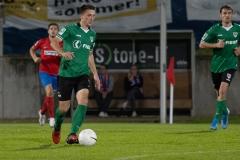 5. Spieltag: Wuppertaler SV - Preußen Münster. Dominik Klann am Ball.