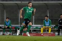 5. Spieltag: Wuppertaler SV - Preußen Münster. Okan Erdogan kommt ins Spiel.