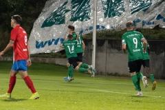 5. Spieltag: Wuppertaler SV - Preußen Münster. Tor für den SCP durch Nicolai Remberg.