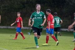 5. Spieltag: Wuppertaler SV - Preußen Münster. Julian Schauerte freut sich nach dem 1:1.