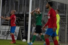 5. Spieltag: Wuppertaler SV - Preußen Münster. Glück und Unglück... Remberg vergibt das sichere 2:1.