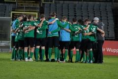 5. Spieltag: Wuppertaler SV - Preußen Münster. Nach Abpfiff.