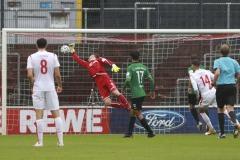 1. FC Köln U21 - Preußen Münster 03.10.2020 Foto: S. Sanders  1:0 für Köln durch Tim Lemperle