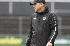 1. FC Köln U21 - Preußen Münster 03.10.2020 Foto: S. Sanders  Trainer Sascha Hildmann (Münster)