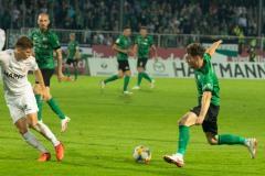 7. Spieltag 2021/2022: Preußen Münster - RW Essen 2:3. Jules Schwadorf.