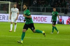 7. Spieltag 2021/2022: Preußen Münster - RW Essen 2:3. Deniz Bindemann.