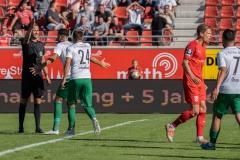 9. Spieltag: Hallescher FC gegen Preußen Münster. Kein Handelfmeter nach der Chance von Dadashov.