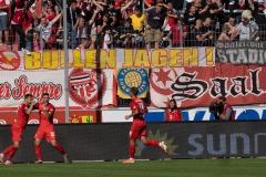 9. Spieltag: Hallescher FC gegen Preußen Münster.