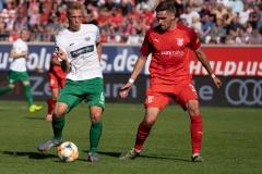 9. Spieltag: Hallescher FC gegen Preußen Münster. Nico Brandenburger.