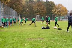 Training des SC Preußen Münster am Freitag, 1. November 2019.