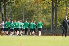 Preußen-Training am 14. Oktober 2019.