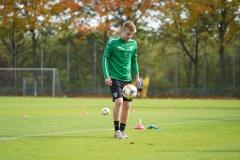 Preußen-Training am 14. Oktober 2019. Fridolin Wagner.
