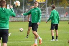 Preußen-Training am 14. Oktober 2019. Alexander Rossipal.