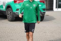 Preußen-Training am 14. Oktober 2019. Ole Kittner am Start.