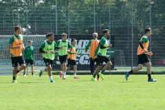 Mannschaftstraining beim SC Preußen Münster am 26. Mai 2020. Foto: SC Preußen Münster