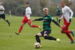 Testspiel Jong FC Utrecht - Preußen Münster (1:4). Niklas Heidemann.