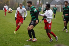 Testspiel Jong FC Utrecht - Preußen Münster (1:4). Philipp Hoffmann am Ball.