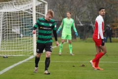 Testspiel Jong FC Utrecht - Preußen Münster (1:4). Fridolin Wagner.