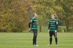 Testspiel Jong FC Utrecht - Preußen Münster (1:4). Warten auf den Gegner. Simon Scherder und Fridolin Wagner (v.l.).